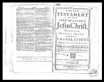 James Gray Family Bible Records