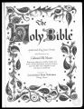 Donald Wilton and Alma Jane Hill Holmes Family Bible Records