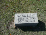 David Elias July 11, 1860 October 15, 1917