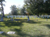 Confederate section from Old Hebrew section, Historic Oakwood Cemetery