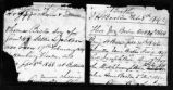 James and Elizabeth Briggs Boston Family Records