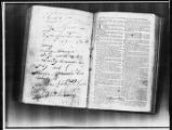 Nathaniel and Anne Runnels Alexander Family Bible Records