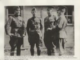 Group of American officers including Maj. Gen. J.C. Bailey, Lieut. Col. C.M. Dowell, Brig Gen....