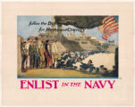 Follow the Boys in Blue for Home and Country--Enlist in the Navy