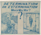 Determination Or Extermination--Which Will Win?