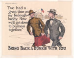 "Bring Back a ""Bunkie"" With You"