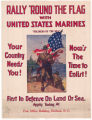 "Rally 'Round the Flag with United States Marines--""Soldiers of the Sea"""