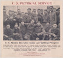 U.S. Pictorial Service--U.S. Marine Recruits Happy at Fighting Prospect