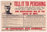 Tell It To Pershing--No Conferences with Criminals