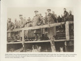 View of the grandstand at the Second Army Corps field meet. Near Corbie, Somme, France, November...