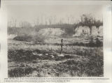View of the battlefield where the Twenty-seventh and Thirtieth Divisions met stubborn resistance....