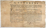 Letter of Marque signed by John Hancock, 1776