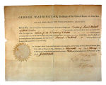 Appointment of Samuel Tredwell signed by George Washington and Thomas Jefferson, Feb. 19, 1793