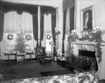 Governor's Mansion Christmas Decorations, 1945