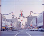 Fayetteville Street at Christmas, 1968