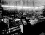 Eckerd's Drug Store and Tobacco Counter at Christmas, 1941