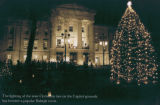Tree Lighting at the State Capitol, ca. 1990s