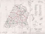 Stanly County 1960 Enumeration District Map
