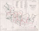 Martin County 1960 Enumeration District Map