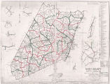 Nash County 1960 Enumeration District Map