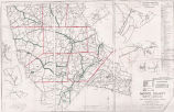 Moore County 1960 Enumeration District Map