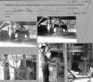 Contact sheet with images of Jugtown Pottery facility.
