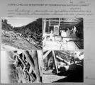 Contact sheet with images of Qualla Boundary sawmill.