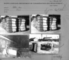 Contact sheet with multiple cotton baling images.