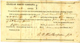 Summons for Jacob Womble, G. W. Fried, and William B. George, Nov. 23, 1843