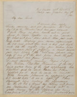 Letter: William H. S. Burgwyn to Henry King Burgwyn, Sr. and Anna Greenough Burgwyn, May 6, 1862