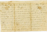 Letter: Daniel W. Revis to Sarepta Revis, May 18, 1863