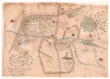 Topographical Sketch of the Battle of Bethel, June 10, 1861
