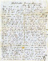 Letter: Larkin S. Kendrick to Mary C. Kendrick, May 17, 1862
