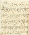 Letter: Duncan R. Barnhill to Susan Barnhill and A. J. Barnhill, April 26, 1864