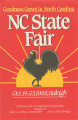 1988 NC State Fair program