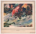 Wake Island--Jap Invasion Troops Meet Terrific Shell Fire of Heroic Marine Defenders