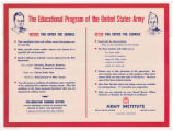 The Educational Program of the United States Army