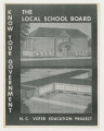 Booklet: Know Your Government: The Local School Board
