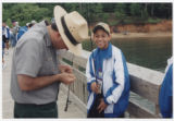 Youth fishing tournament, circa 2000
