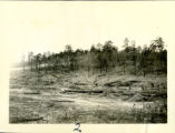 View of lake area before dam constructions, circa 1950