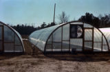 Greenhouses at an Agricultural Engineering Development Farm.