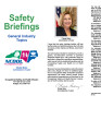 Safety briefings : general industry topics