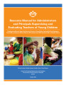 Resource manual for administrators and principals supervising and evaluating teachers of young...