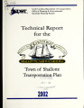 Technical report for the town of Shallotte transportation plan, North Carolina
