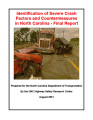 Identification of severe crash factors and countermeasures in North Carolina