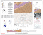 Bedrock geologic map of the Sylva north 7.5-minute quadrangle, North Carolina