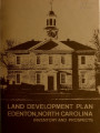 Land development plan, Edenton, North Carolina : inventory and prospects