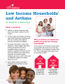 Low income households and asthma in North Carolina