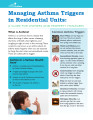Managing asthma triggers in residential units : a guide for owners and property managers