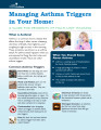 Managing asthma triggers in your home : a guide for residents of multi-unit housing